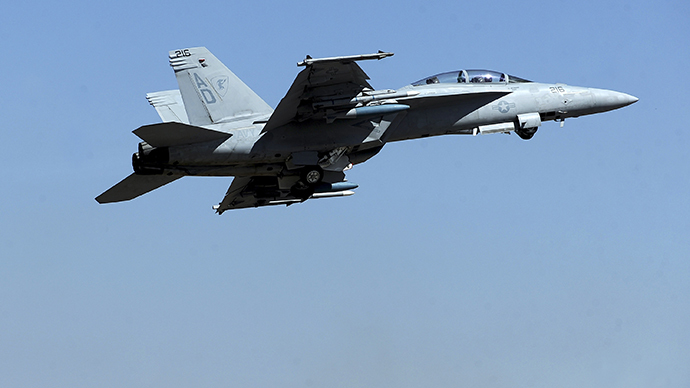 Navy puts electronic attack jets