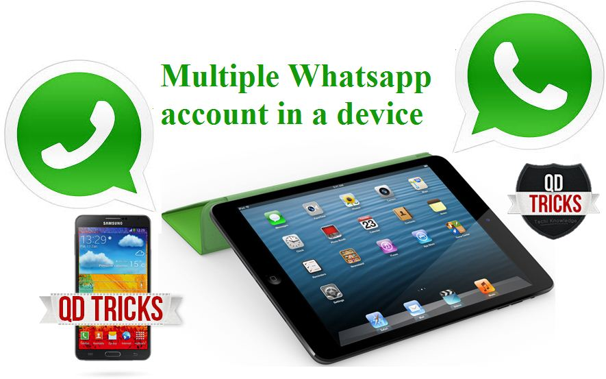 how to get 2 whatsapp