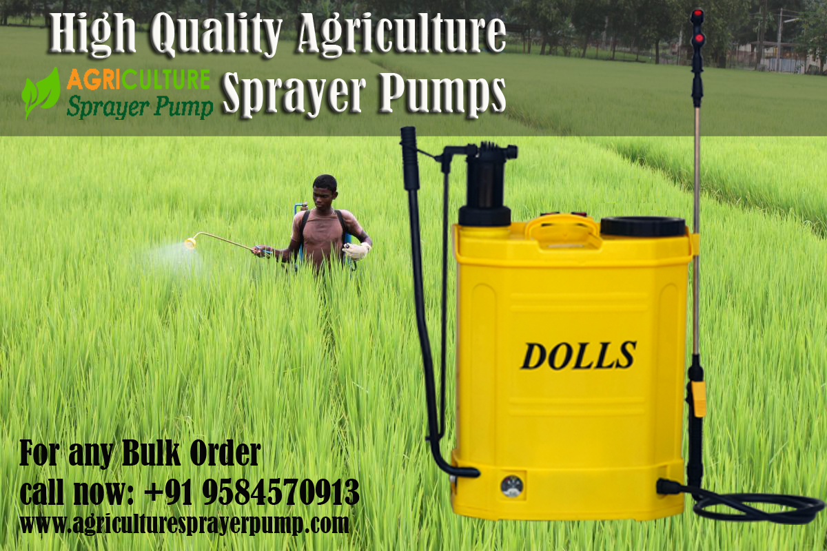 Battery Operated sprayer Pumps
