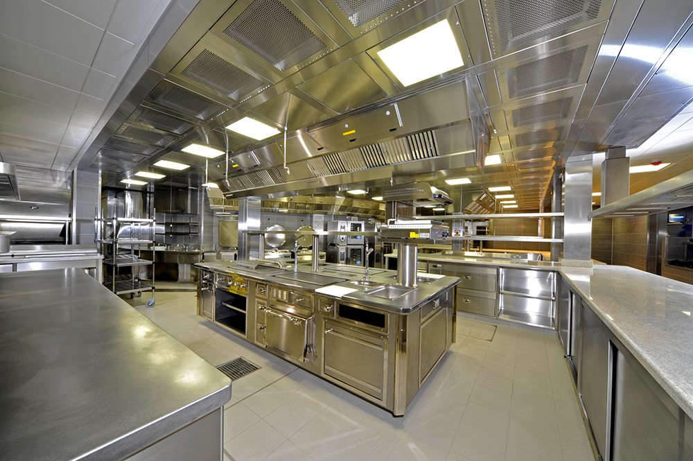 restaurants kitchen equipments
